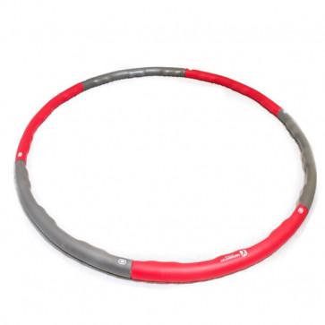 1,2 kg hulahopring med bølget design og lækker polstring.