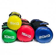 Power bags med forskellig vægt til funktionel træning