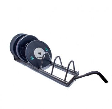 Vægtskiveholder til olympiske vægtskiver