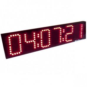 Udendørs interval timer til løbetræning med tydeligt display