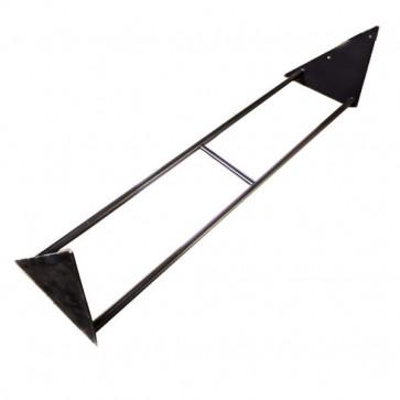 Pullup bar i trekant design