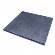GummiGulv flise på 500x500 cm i 15 mm tykkelse.