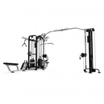 Komplet kabeltræk til fitnesscenteret med pulldown og rows