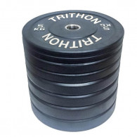 100 kg bumperplate vægtskivesæt