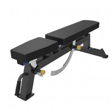 Solid justerbar bænk med maks belastning på hele 300 kg