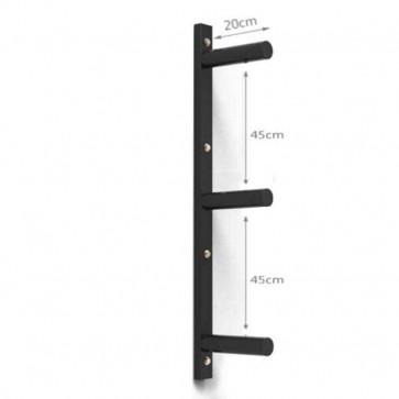 3 rækket vægtskiver til montering på væggen