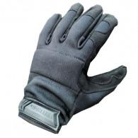 Handsker med åndbar pverside og skind på slidflader