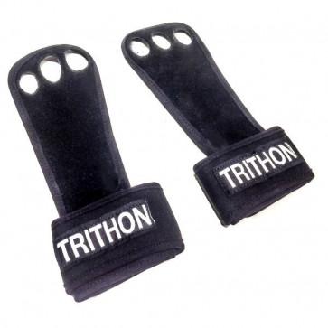 Læder grips med håndledsstøtte til pullups