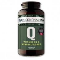 B12 og magnesium tabletter mod træthed
